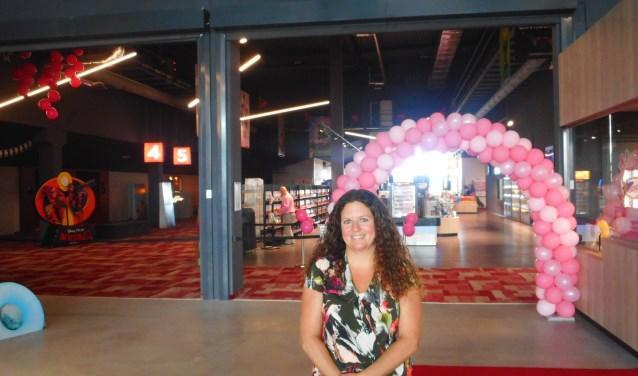 Marketingmanager Patricia van Lieshout kijkt zeer tevreden terug op het eerste jaar van Euroscoop Schiedam. (Foto: Bart van der Linden)