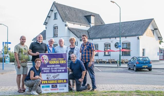 De organisatie van de de Kuukse Kwis 2018. (foto: Arjan Broekmans)