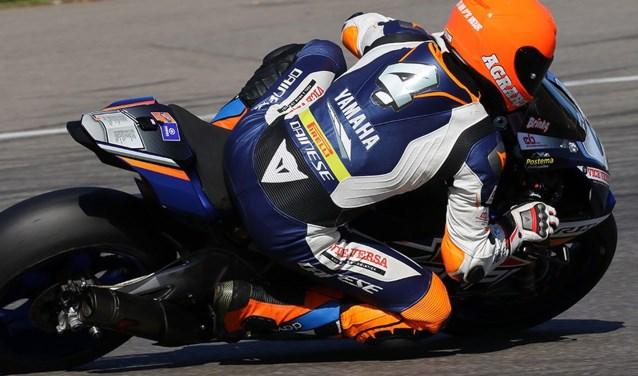 Ricardo Brink in actie op het circuit van Hockenheim