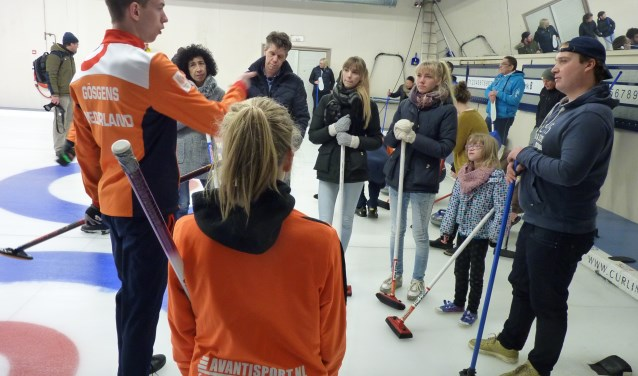 Curling Try-out