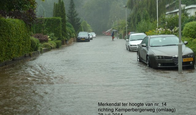 Wateroverlast Merkendal