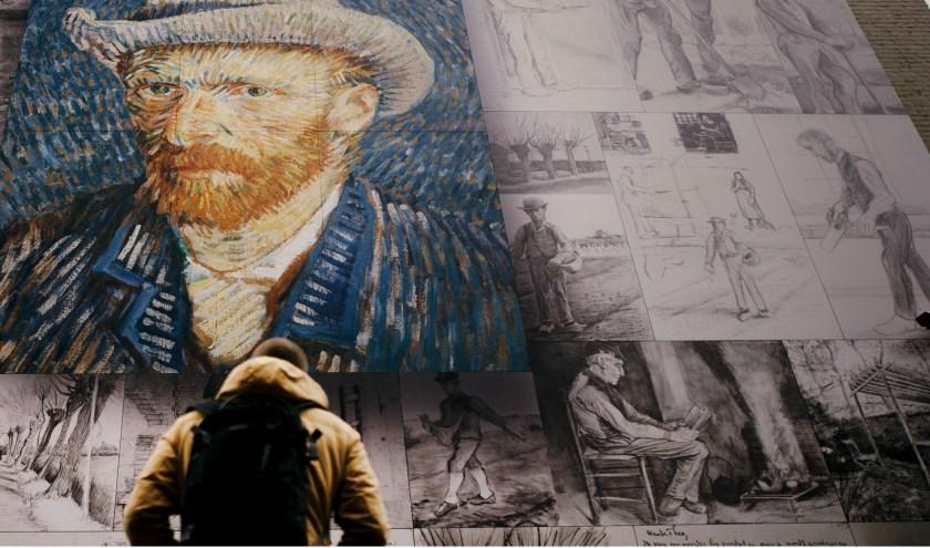 De Van Gogh-muur in Etten-Leur. Foto: VisitBrabant.