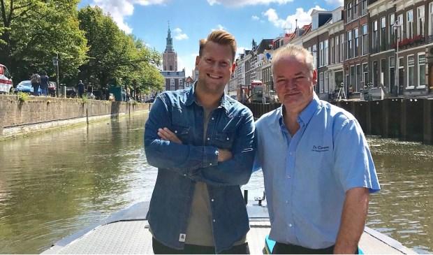 Ralf Sluijs (links) en Peter Duivesteijn.
