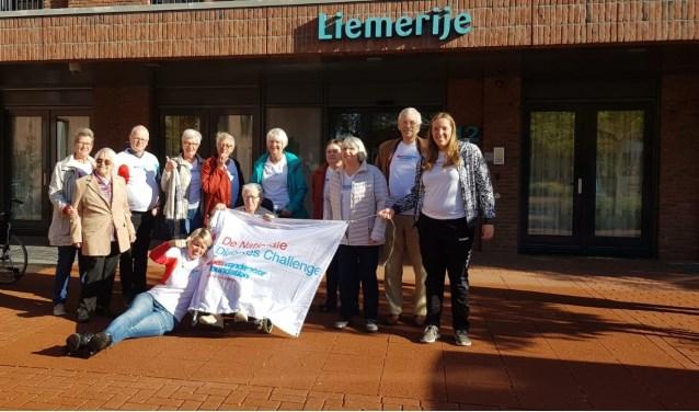 De deelnemers van de Diabetes Challenge die werd gehouden door de Bas van de Goor Foundation. (foto: Liemerije)