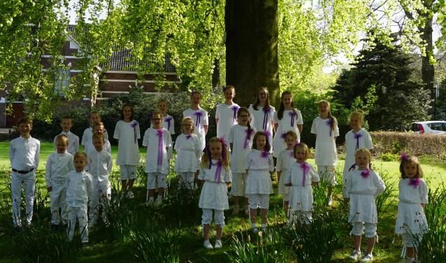 Kinderkoor van de Sanghertjes