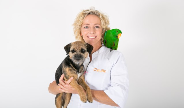 Camille Voorneveld dierenarts & eigenaresse DAP Breukelen.