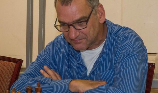 Peter Vis in actie. (Foto: Privé)