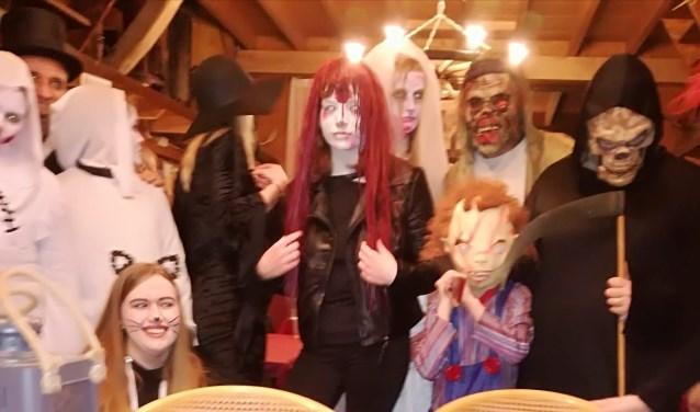 Halloween in de Kelder.