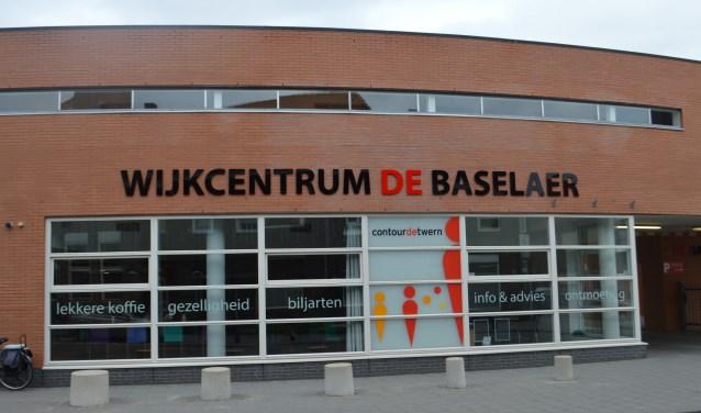 Wijkcentrum De Baselaer aan de Hoefstraat in Tilburg