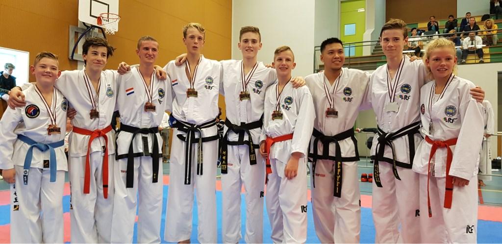 Team Sparren - Prijswinnaars - 3de plaats TSM Foto: Eigen foto © Persgroep