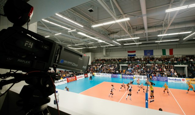 Op 17 oktober landt, net als vorig seizoen, het Champions League-circus weer bij Sliedrecht Sport. (Foto: Pim Waslander)