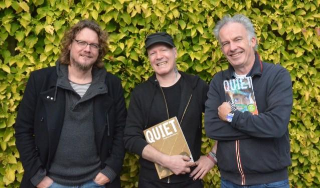 De mannen achter de Quiet 500 vormen de 'jury' van het Quiet-fonds: A.H.J. Dautzenberg, Nick J. Swarth en Ralf Embrechts.