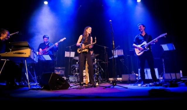 Het eerste Ekris BMW Jazzfestival plaats in locatie Het Lichtruim. FOTO: Merce Wouthuysen