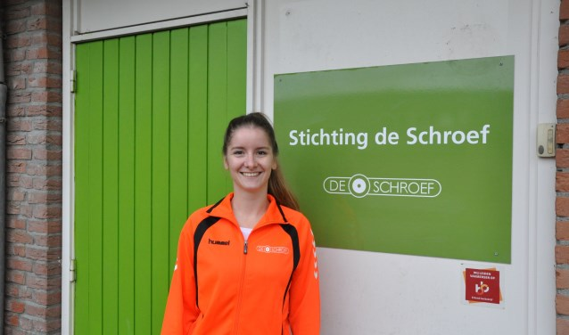 """""""Als 'buurtsportcoach aangepast sporten' zet ik me in om mensen met een beperking te kunnen laten sporten"""", aldus Lian van de Veerdonk."""