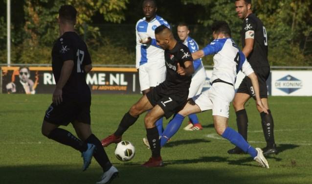 Nivo Sparta versloeg Drechtstreek met 5-0. De Papendrechters moesten duidelijk hun meerdere erkennen in deze tegenstander.