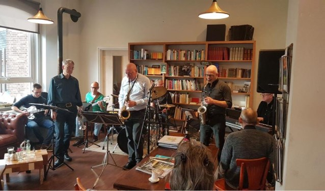 Jazz jamsessie met JW Copple Club