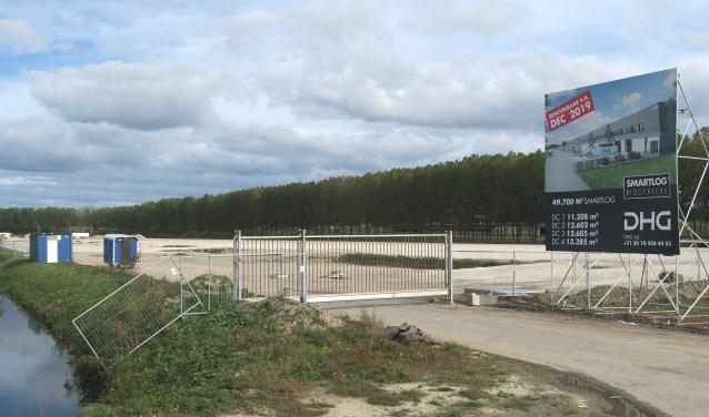 De verkoop van de grond levert de gemeente Ridderkerk 16,1 miljoen op (foto en tekst Geert van Someren).