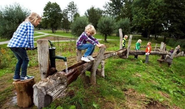 De afvoer van water is een wezenlijk punt gezien de vaker voorkomende stortbuien. FOTO: Provincie Gelderland