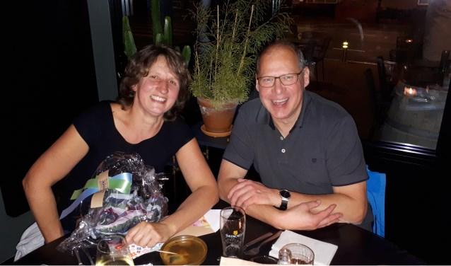 Harmina Houwing en Gerard Slok