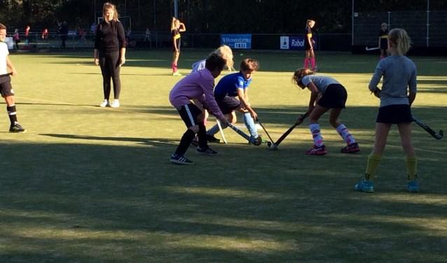 Er werd woensdag met veel sportiviteit, inzet en enthousiasme gespeeld.