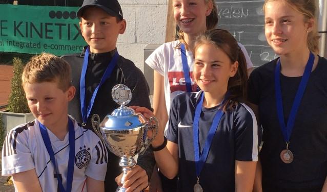 Het winnende team van Breukelen