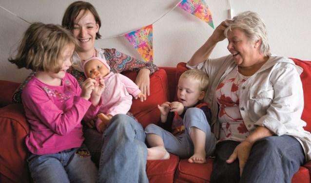 Ouders kunnen bij Home STart BAR op hulp en een luisterend oor rekenen (Foto: Diederik de Klerk)