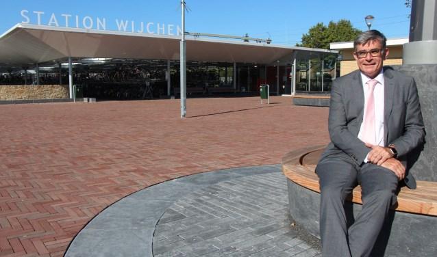 Wethouder Paul Loermans: 'Wijchen ligt er goed bij.' (Foto: Jan Hermens)