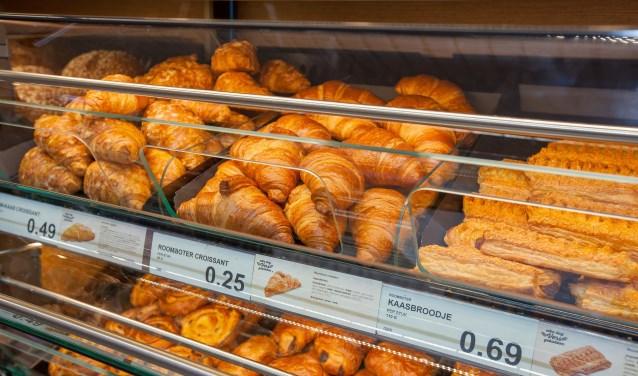 De geur van vers afgebakken broodjes komt de klant straks tegemoet. (Foto: PR)