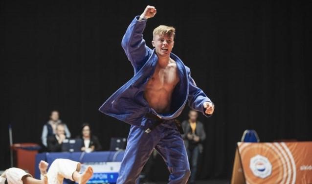 Het zilver van zaterdag is voor Daan zijn eerste medaille op een NK bij de senioren.