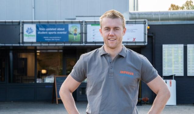 """Matthijs Klaassen is Improve Physiotherapy begonnen in Sportcentrum De Bongerd: """"Beter in beweging, daar draait het om."""""""