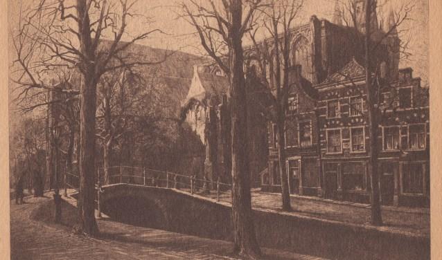 De voorstraat / Oude Delft.