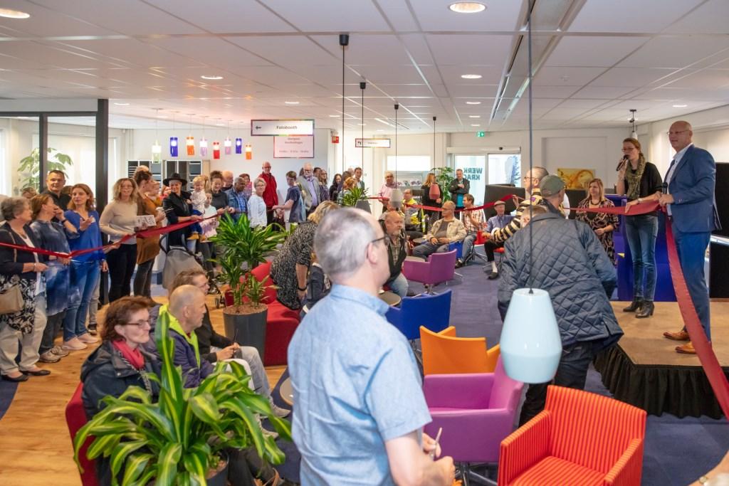 Ruim 250 werknemers bezoeken het open huis van Werkkracht Fotostudio Albert © Persgroep