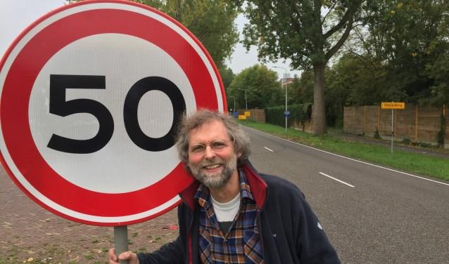 Robert Prins trekt ten strijde tegen 'gevaarlijke flitspalen op de  Beatrixlaan': 'Ze leiden tot gevaarlijke situaties.'