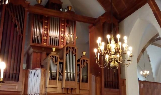 Flentrop-orgel Grote Kerk Wageningen