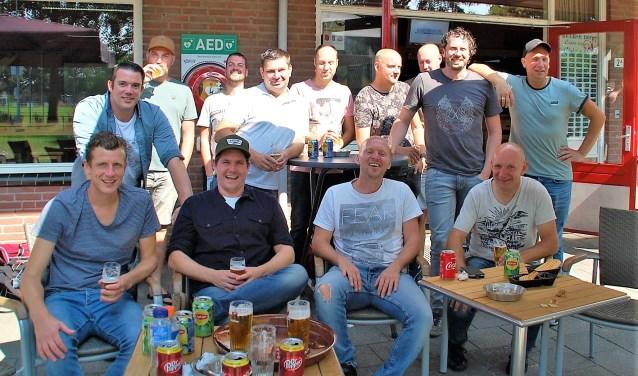 De heren van Beerse Boys 9.Foto: Rens van Ginneken