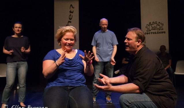 Zoetelieve presenteert aanstaande zondag een theatersportwedstrijd in de Verkadefabriek in Den Bosch. Foto: Ellen Broeren