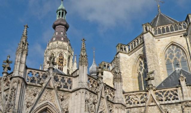 De protestantse Grote Kerk van Breda