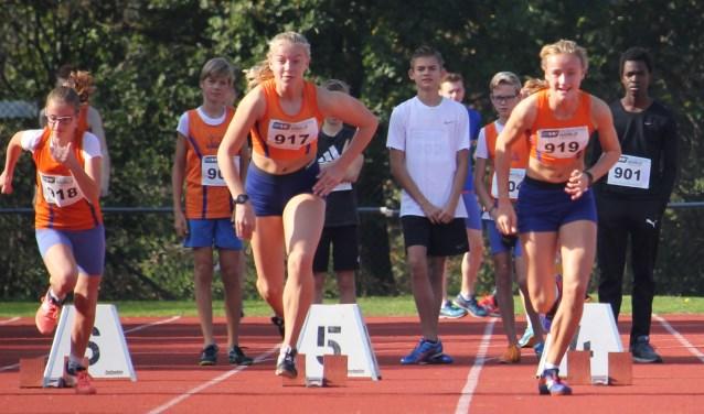 start 100 meter sprint