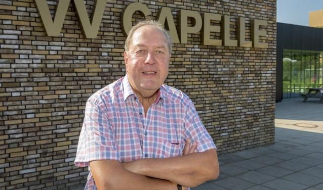 Jaap Mastenbroek houdt het binnenkort voor gezien als voorzitter van vv Capelle. (Foto: Wijntjesfotografie.nl)