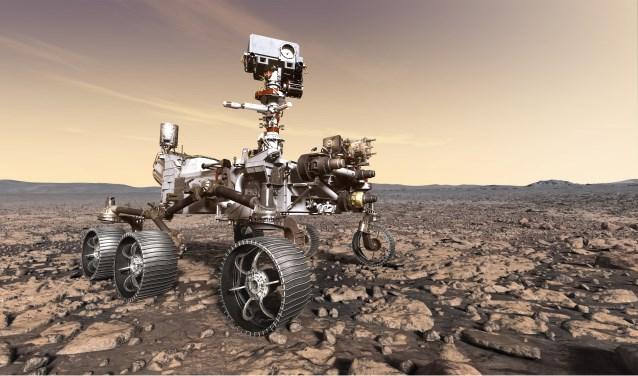 Rovermissie op Mars.