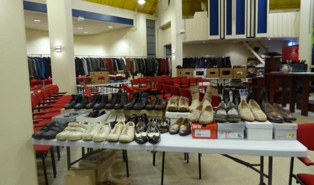 Het aanbod van kleding, schoenen e.d. in De Voorhof zal dit jaar nóg groter zijn.