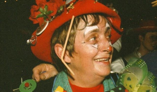 Els van den Berg als 'Goei Vrouwke'.
