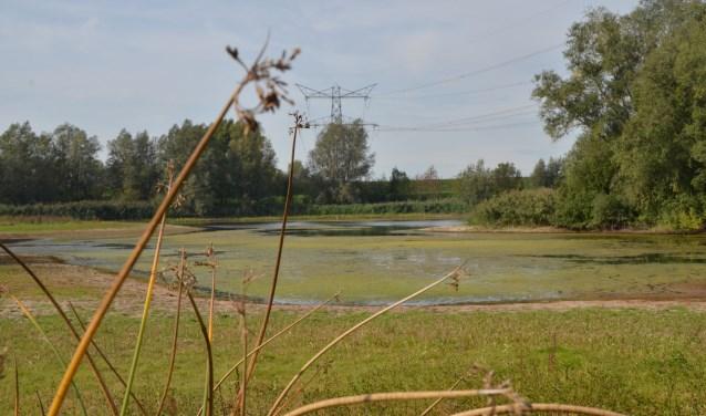 Zicht op de Waay in Groessen.