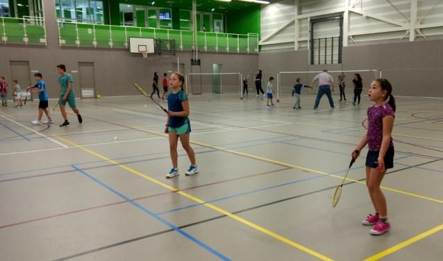 Badmintonnen met je vriendinnetje