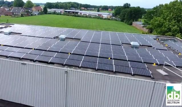 De Stichting Duurzaam Beltrum heeft meerdere opties qua daken. De keuze valt pas nadat de aanmelding is gesloten.