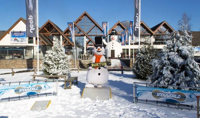 SnowWorld trapt de winter af met veel activiteiten