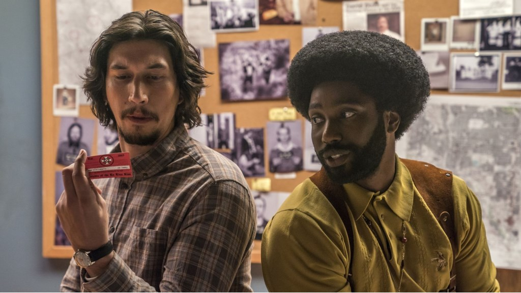 4117_D025_13343_R_CROPAdam Driver stars as Flip Zimmerman and John David Washington as Ron Stallworth in Spike Lee's BlacKkKLansman, a Focus Features release.Credit: David Lee / Focus Features Foto: David Lee © Persgroep