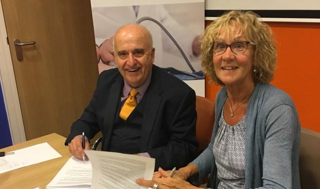 ondertekening van het samenwerkingsverband met de Aortastichting in het Canisius Ziekenhuis te Nijmegen