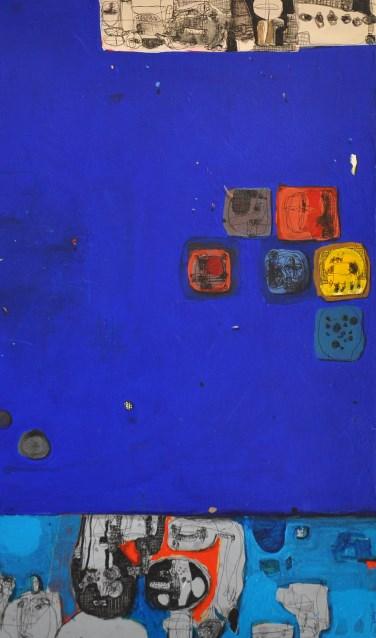 De werken van Hoshyar Rasheed laten een raadselachtige wereld zien. Kleur is nooit enkelvoudig aanwezig, maar altijd gelaagd.