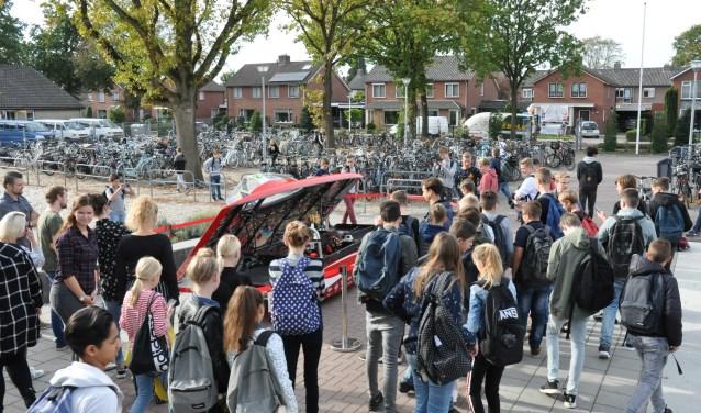Het Solar Team Twente was op het Noordik.